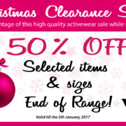 Take advantage of this high quality activewear sale while stocks last!