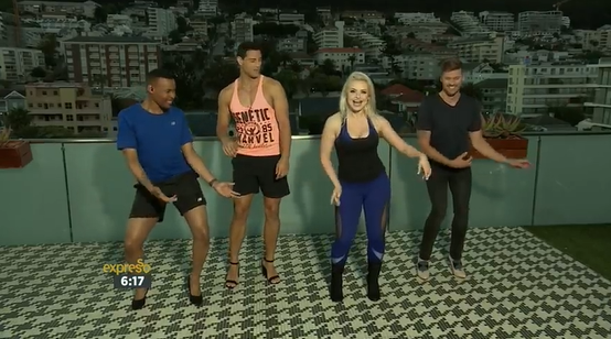 VivaGlam proudly dresses @fitbae on the Expresso Show